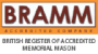 British Register of Accredited Memorial Masons